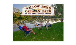 Willow Bend Caravan Park, Wentworth, Outback NSW